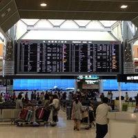 Photo taken at NRT Terminal 2 by MEIKIYOAIPAPA on 3/2/2013