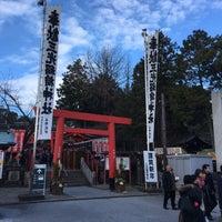 Photo taken at 三光稲荷神社 by Masanobu A. on 1/1/2018