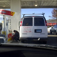 Photo taken at Shell by Brian G. on 11/3/2012