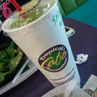 Photo taken at Tropical Smoothie by Erin A. on 1/13/2013