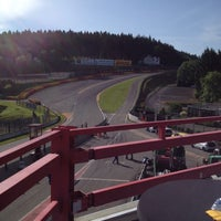 Photo taken at Vieux Stand Circuit Francorchamps by Andy L. on 6/9/2014