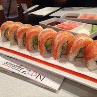 Photo taken at Sushi Zen by May G. on 8/17/2014