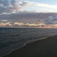 Photo taken at Spanish River Beach by Kimberly S. on 12/6/2012
