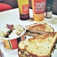 Photo taken at Zoës Kitchen by Andi R. on 1/7/2013