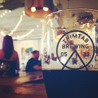 Photo taken at Trimtab Brewing Company by Andi R. on 7/20/2014