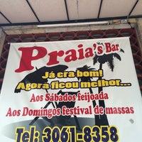 Photo taken at Praias Bar by Débora C. on 11/22/2014