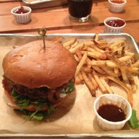 Photo taken at Hopdoddy Burger Bar by David K. on 10/31/2012