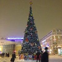 Photo taken at Sennaya Square by Ksushka T. on 12/9/2012