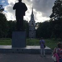 Photo taken at Памятник Ленину by Николай Н. on 8/5/2017