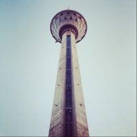Photo taken at Milad Tower by Amir K. on 7/15/2013
