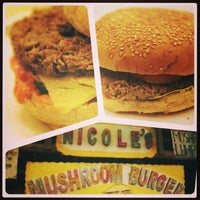 Photo taken at nicole's mushroom burger by Em M. on 10/6/2013
