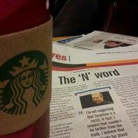 Photo taken at Starbucks by Damien W. on 12/28/2012