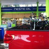 Photo taken at Neste Oil АЗС №528 by Sergey K. on 7/15/2013