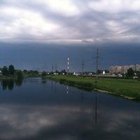 Снимок сделан в Троєщинський канал пользователем Maksim K. 6/11/2013