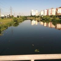 Снимок сделан в Троєщинський канал пользователем Maksim K. 6/14/2013