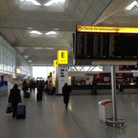 Photo taken at London Stansted Airport (STN) by Eric v. on 2/21/2013