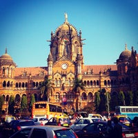Photo taken at Chhatrapati Shivaji Terminus by Sahal M. on 12/14/2012