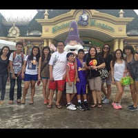 Photo taken at Enchanted Kingdom by Meggie B. on 5/13/2013