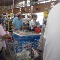 Photo taken at Supermercado Guanabara (Hiper) by Ivo S. on 1/26/2014