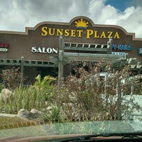 Photo taken at Sunset Plaza by Ron R. on 10/17/2016
