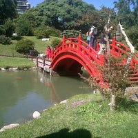 Photo taken at Jardín Japonés by Adrián G. on 3/30/2013