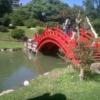 Foto tirada no(a) Jardín Japonés por Adrián G. em 3/30/2013