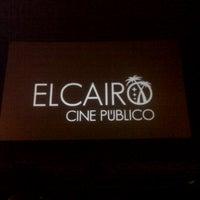Foto tomada en El Cairo - Cine Público por Adrián G. el 9/1/2013