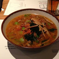 Photo taken at wagamama by Stephen D. on 1/2/2013