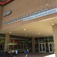 Photo taken at Walter Cronkite School of Journalism & Mass Communication by Brian I. on 10/26/2012
