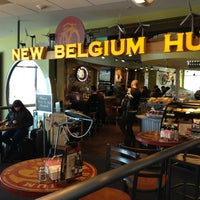 Photo taken at New Belgium Brewing Hub by Brian I. on 3/6/2013