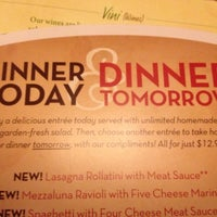 Photo taken at Olive Garden by Jacob E. on 11/7/2012