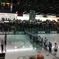 Photo taken at Schneider Arena by Becky C. on 3/2/2013
