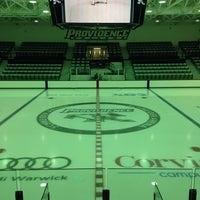 Photo taken at Schneider Arena by Becky C. on 9/27/2013