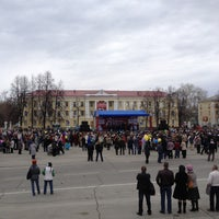 Photo taken at Площадь им. В.И. Ленина by Tovis B. on 5/1/2013