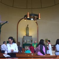 Photo taken at Iglesia de Nuestra Señora de Fátima by Kary A. on 10/22/2017