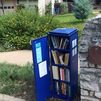 Photo taken at Little Free Library by Tom B. on 10/3/2013