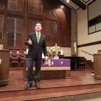 Photo taken at First United Methodist Church by David M. on 3/17/2013