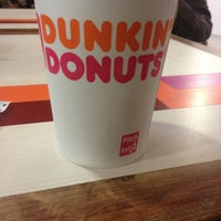 Photo taken at Dunkin' Donuts by Daniela D. on 6/26/2013