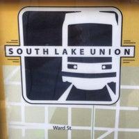Photo taken at South Lake Union Streetcar by Rich A. on 5/21/2013
