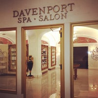 Photo taken at The Davenport Spa And Salon by Rich A. on 10/28/2012