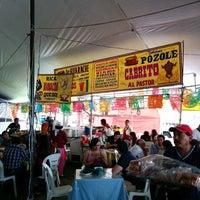 Photo taken at Feria De La Barbacoa by Elena A. on 5/7/2014