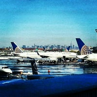 Photo taken at Newark Liberty International Airport (EWR) by Andre J. on 2/27/2013