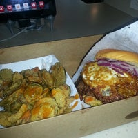 Photo taken at Custom Burgers by Pat La Frieda by Derek S. on 9/13/2013