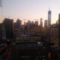 Photo taken at Four Points by Sheraton Manhattan SoHo Village by Nicolas T. on 11/28/2012