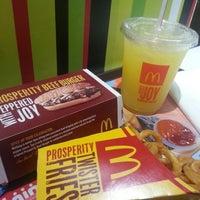 Photo taken at McDonald's by Ryan Jeff F. on 1/11/2013