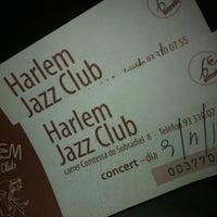 Photo taken at Harlem Jazz Club by Maria S. on 11/9/2012