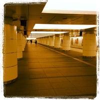 Photo taken at Nijubashimae Station (C10) by blue on 10/29/2012