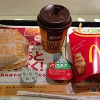 Photo taken at マクドナルド 靱公園前店 by Takumi M. on 12/12/2012