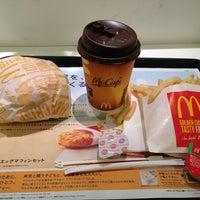 Photo taken at マクドナルド 靱公園前店 by Takumi M. on 1/16/2013
