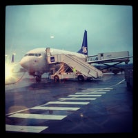 Photo taken at Stavanger Airport Sola (SVG) by Thomas R. on 11/20/2012